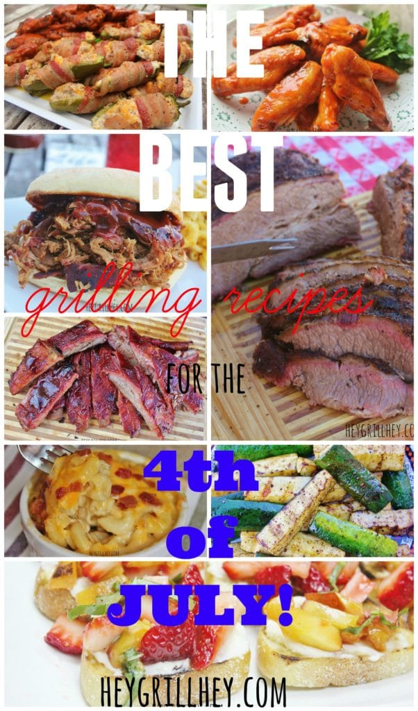 The BEST Grilling Recipes for the 4th of July