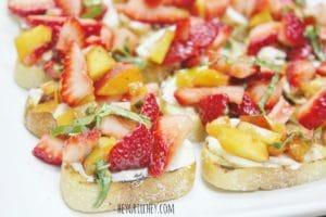 Strawberry Bruschetta with Honey Mascarpone 2