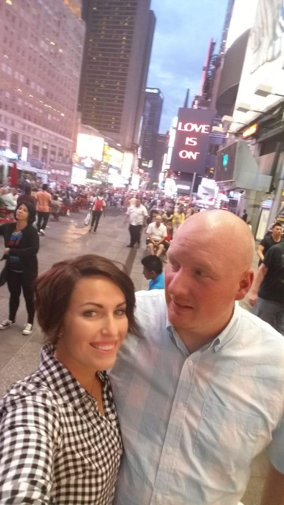 Susie Bulloch Times Square