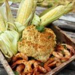 Grilled whole roasted cauliflower heygrillhey.com