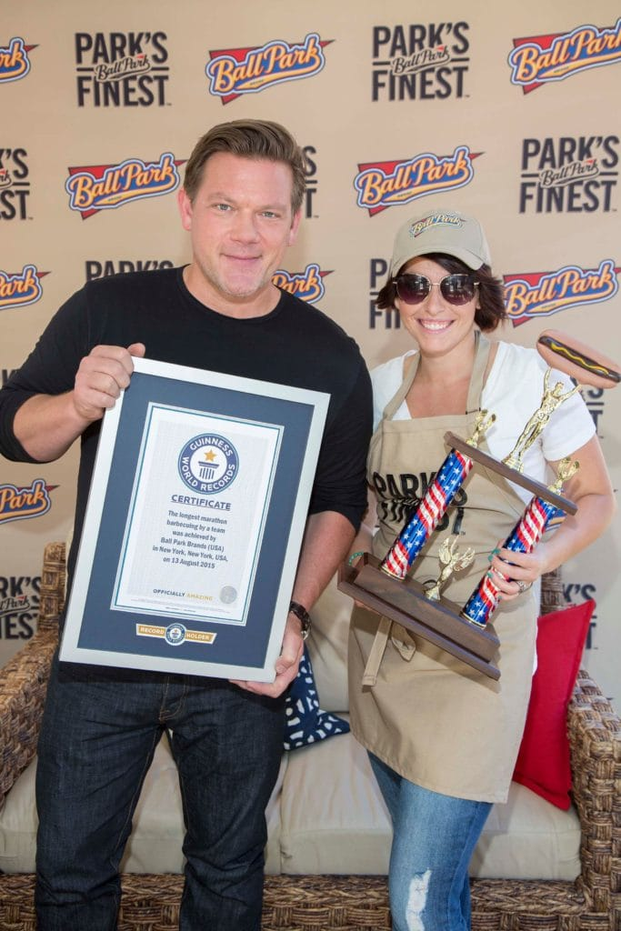 Susie with Tyler Florence!