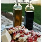Grilled Chicken with Balsamic Marinated Tomatoes