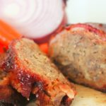 BBQ Meatloaf with Bacon Weave