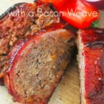 BBQ Meatloaf with a Bacon Weave