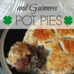 Smoky Steak, Mushroom and Guinness Pot Pies