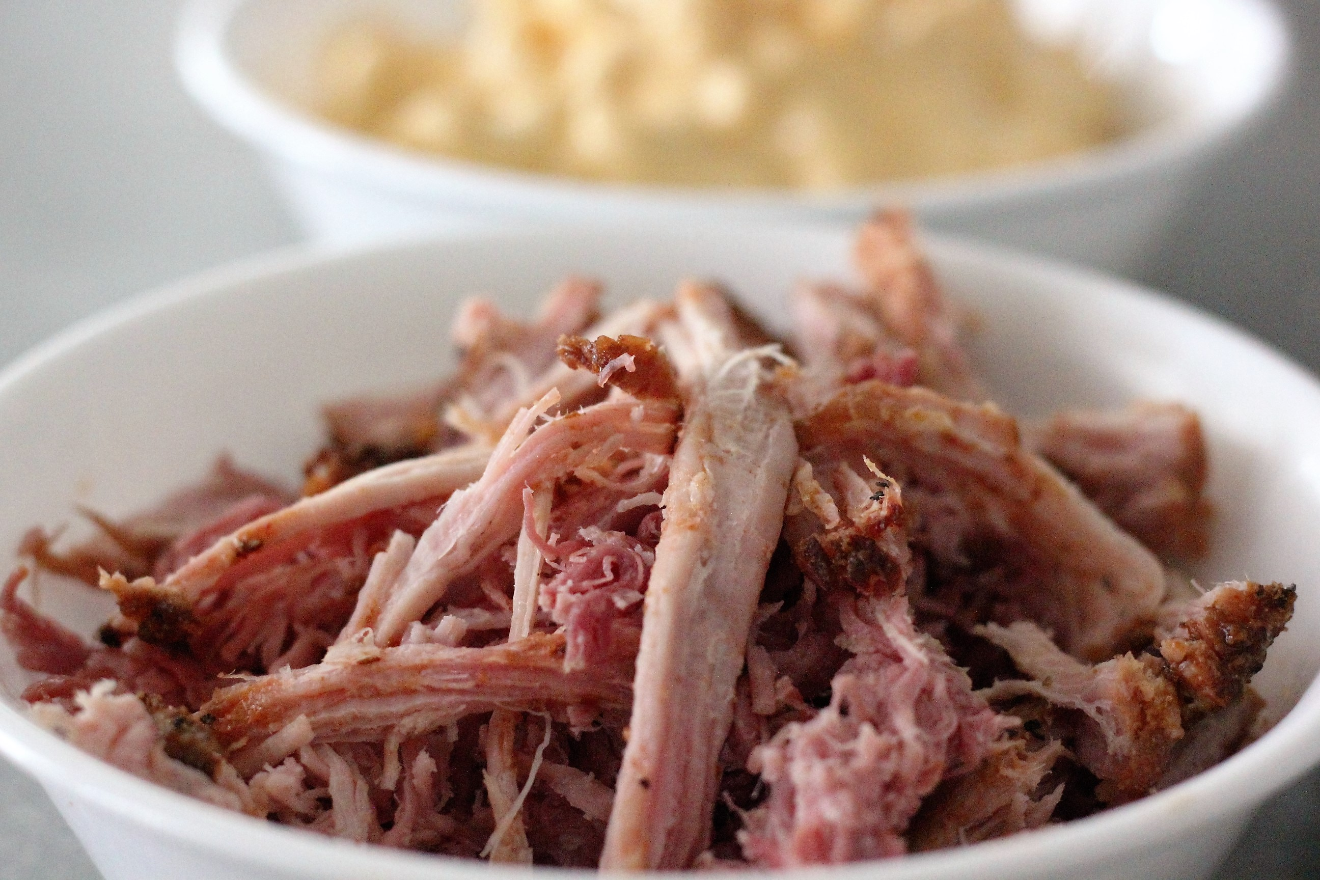 Pulled Pork in a bowl.
