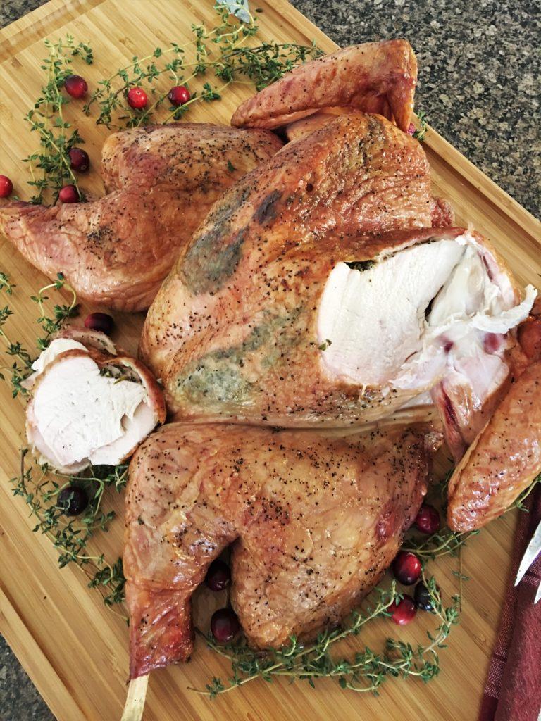 Spatchcock Smoked Turkey