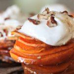 Candied Sweet Potato Stacks
