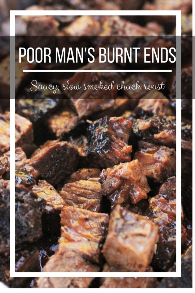 This BBQ Burnt Ends Recipe make the most amazing melt in your mouth burnt ends, using the more affordable chuck roast!