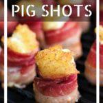 Pineapple Cream Cheese Pig Shots