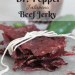 Dr. Pepper Jalapeno Beef Jerky