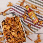 Sweet & Spicy Snack Mix with Cholula Caramel
