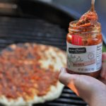 Wood Fired Pizza with Red Pesto