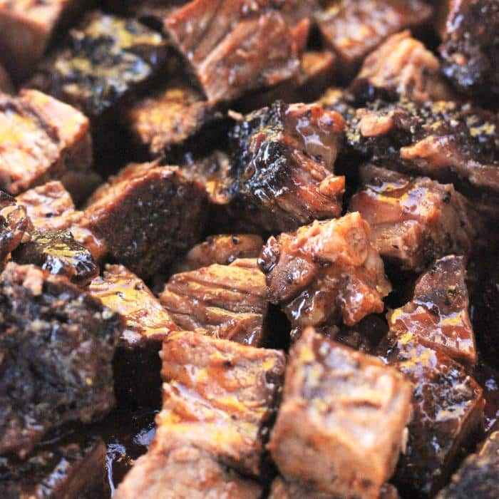 pile of poor man's burnt ends