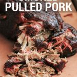 Simple Smoked Pulled Pork Butt