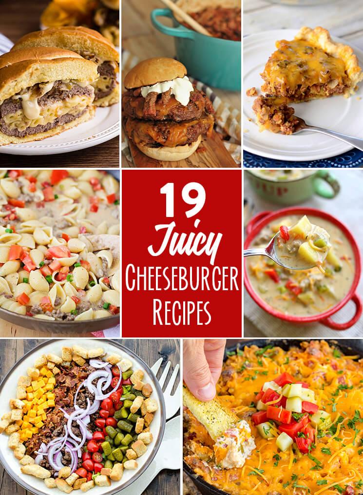 Cheeseburger Recipes
