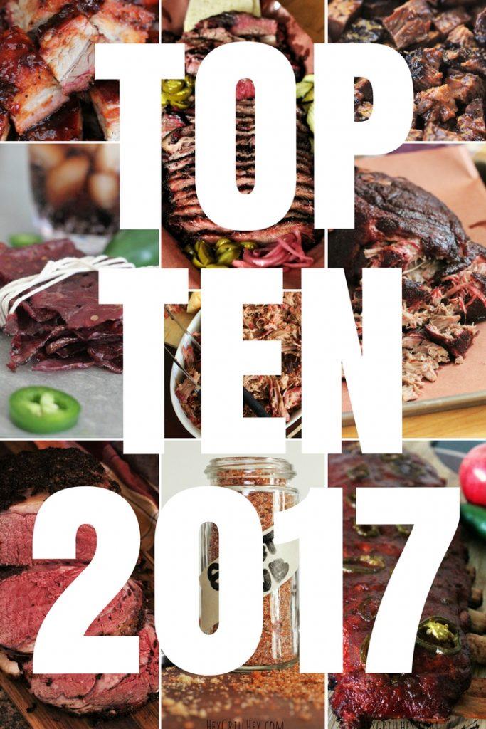 TOP TEN BBQ Recipes of 2017