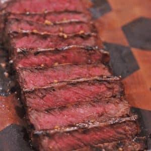 perfect new york strip steak